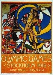 Juegos Olímpicos Estocolmo 1912