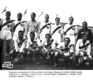 selección de Perú en Berlín 1936